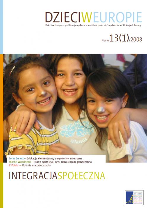 Dzieci w Europie nr 13 INTEGRACJA SPOŁECZNA