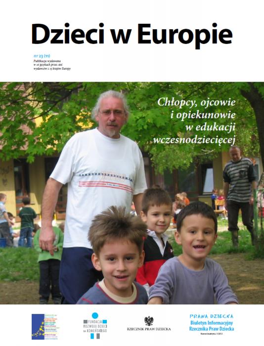 Dzieci w Europie nr 23 Chłopcy, ojcowie i opiekunowie