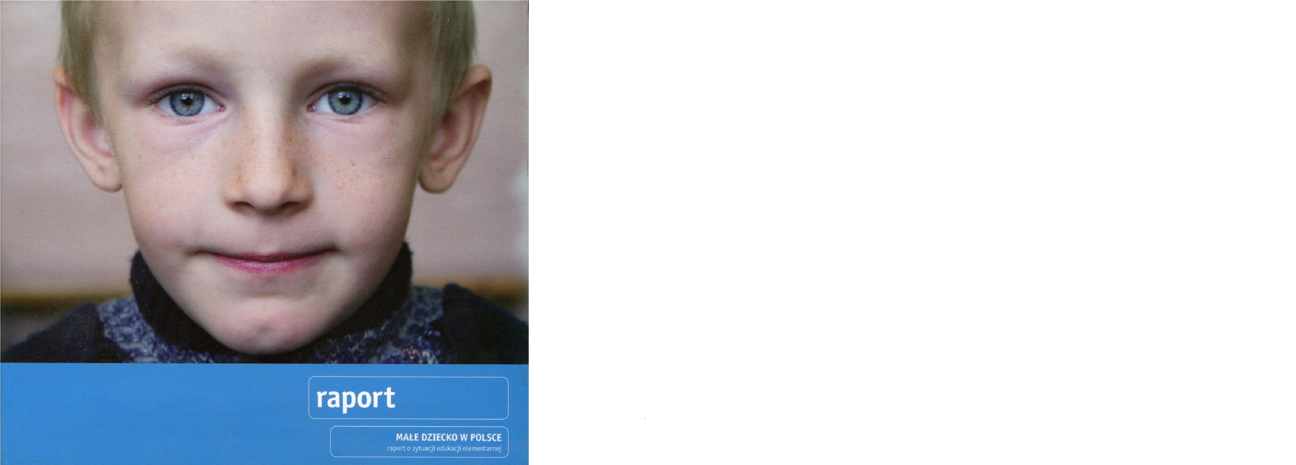 Małe dziecko w Polsce. Raport