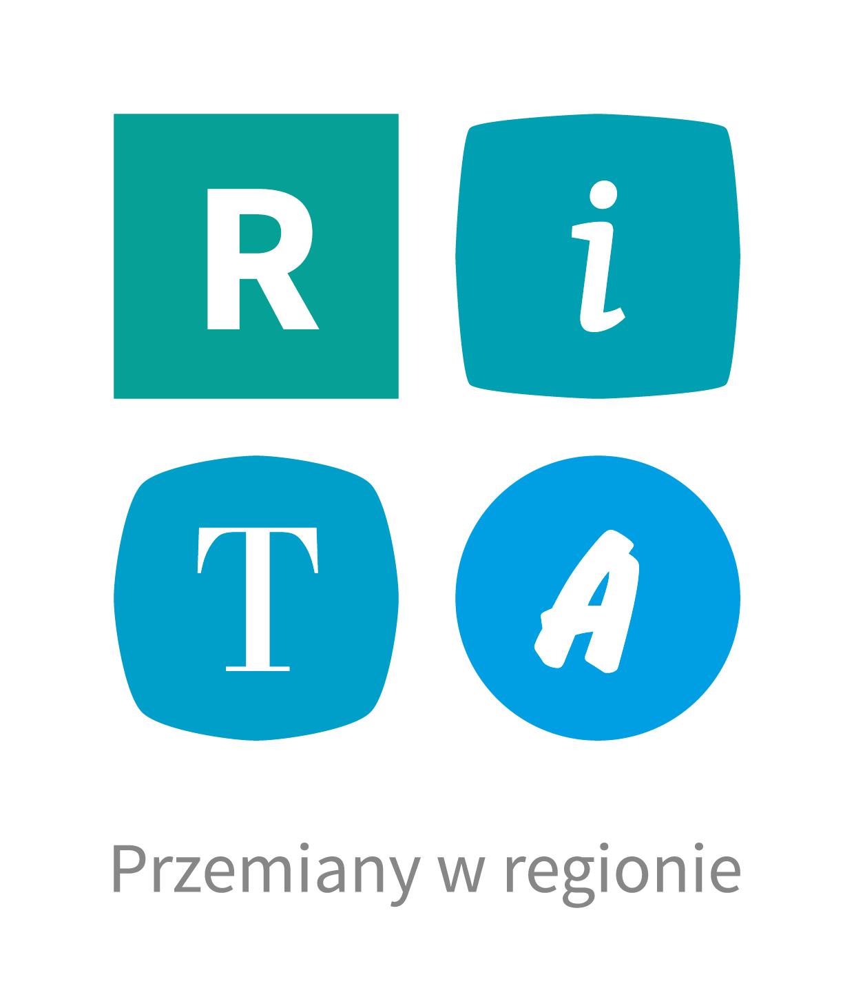 RITA logo v podstawowe kolor